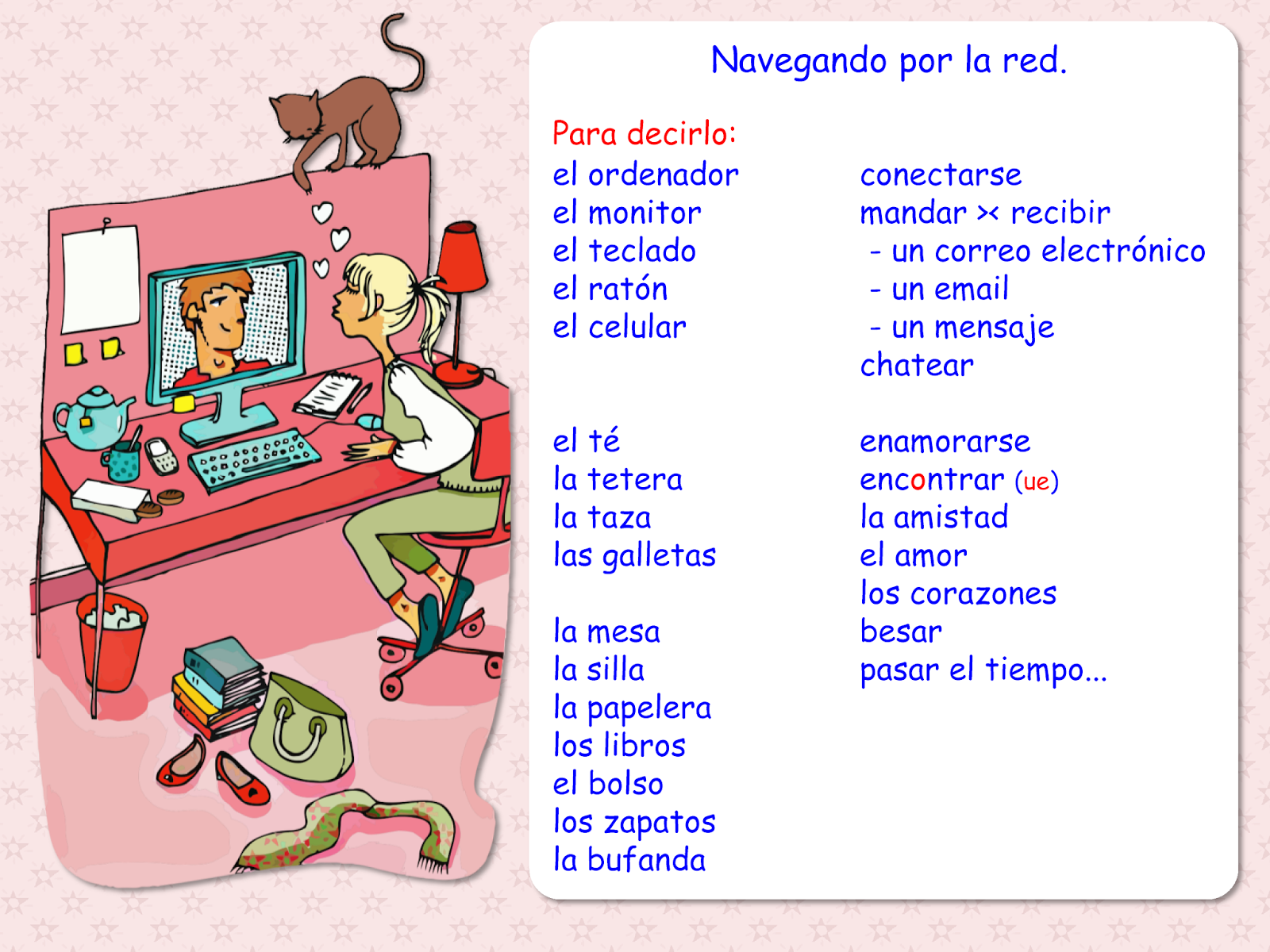71cc13672fb10ff68547f744c497ef15 me encanta escribir en español comunicación navegando por la red