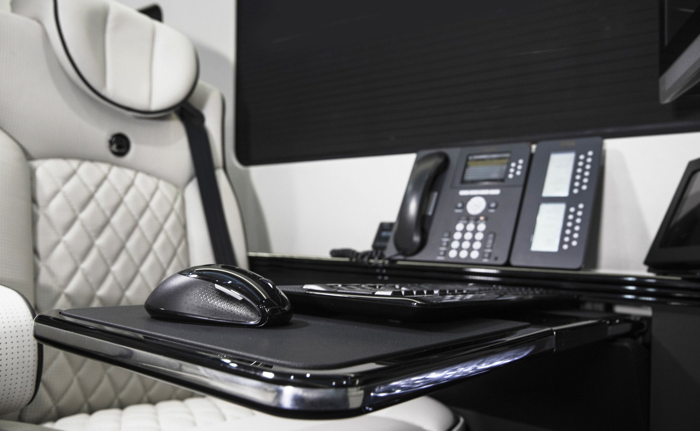 Ultimate business man coach custom interior mercedes benz sprinter van conversion luxury mobile offices