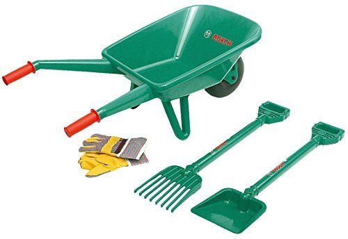 Klein 2752 Jeu De Plein Air Set De Jardinage Bosch Avec Brouette 4 Pieces Brouette Outils Jardinage Jardinage