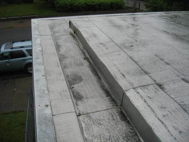 Box Gutters Gutter Box Pinterest Flat Roof Canopy