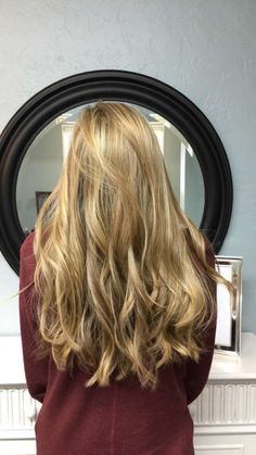 sun kissed natural blonde highlights