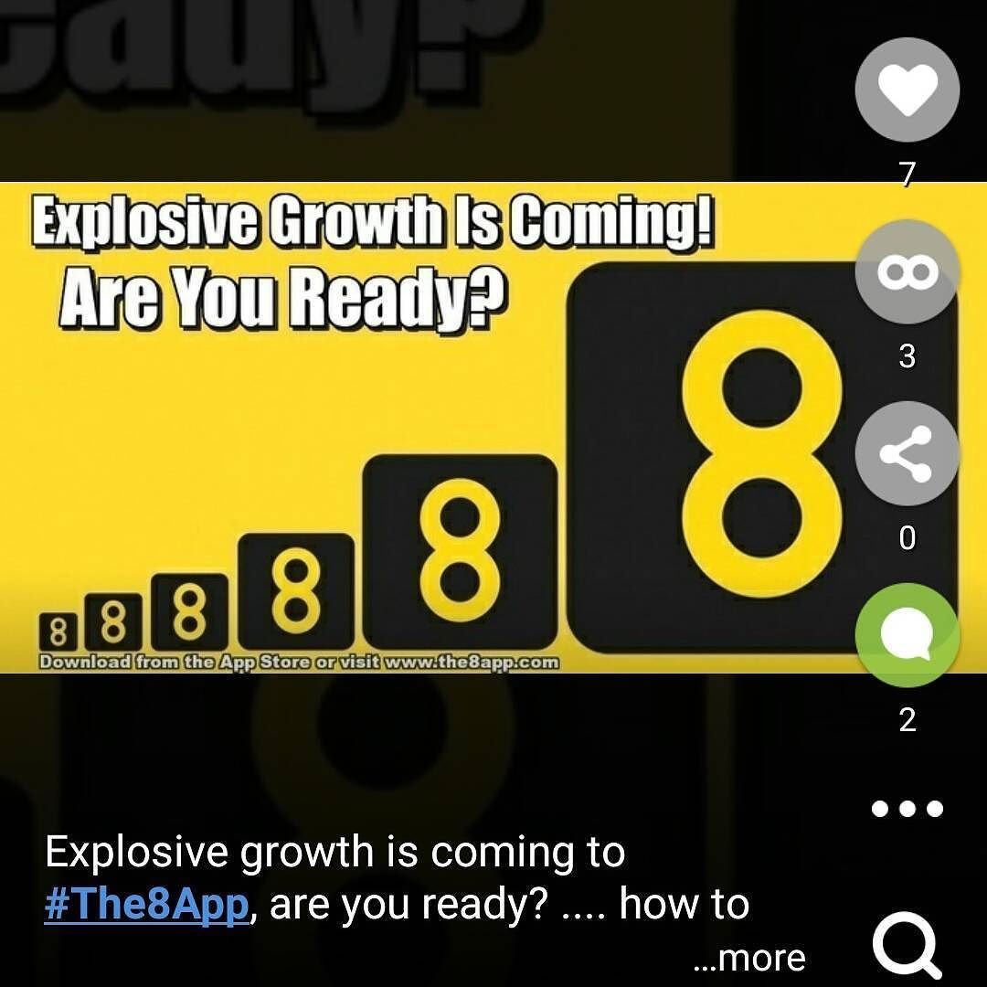 explosive growth is coming to the8app are you ready
