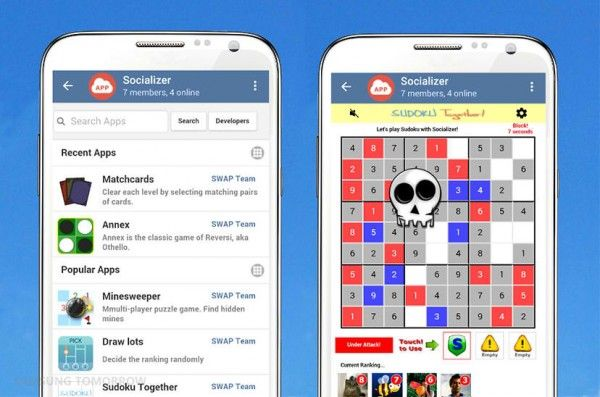 Samsung releases own messaging app called Socializer