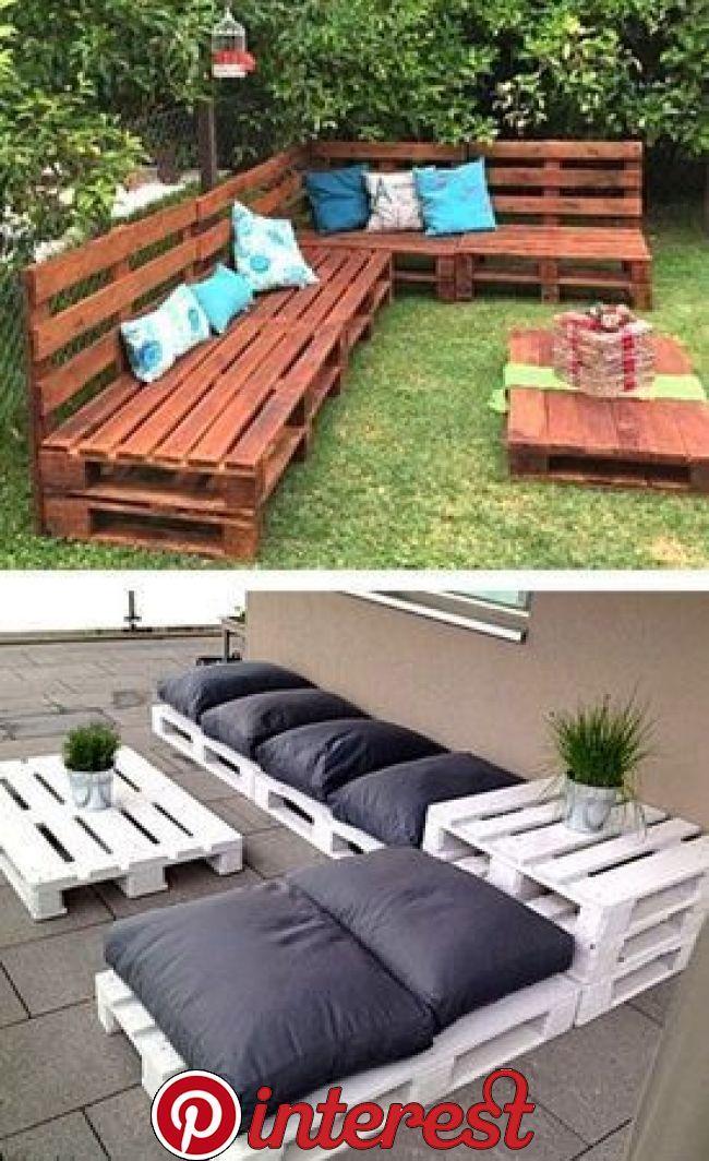 Diy Garden Decoration Backyard Patio Furniture Pallet Furniture Outdoor Diy Garden Furniture