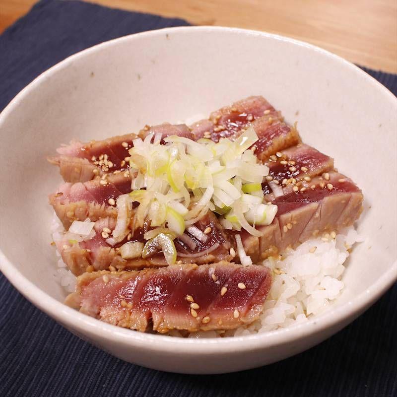 Photo of お酒にも合う!マグロの味噌漬け丼 作り方・レシピ | クラシル