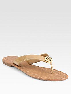 ee19d7be5108f7 Tory Burch Nude Flip Flops
