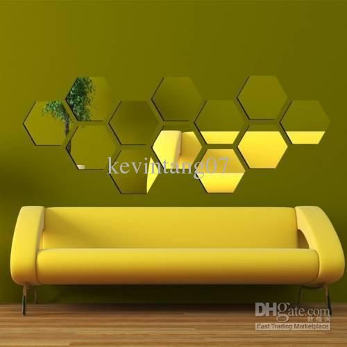 Wholesale Wall Stickers - Buy Romantic Wall Stickers Honeycomb ...