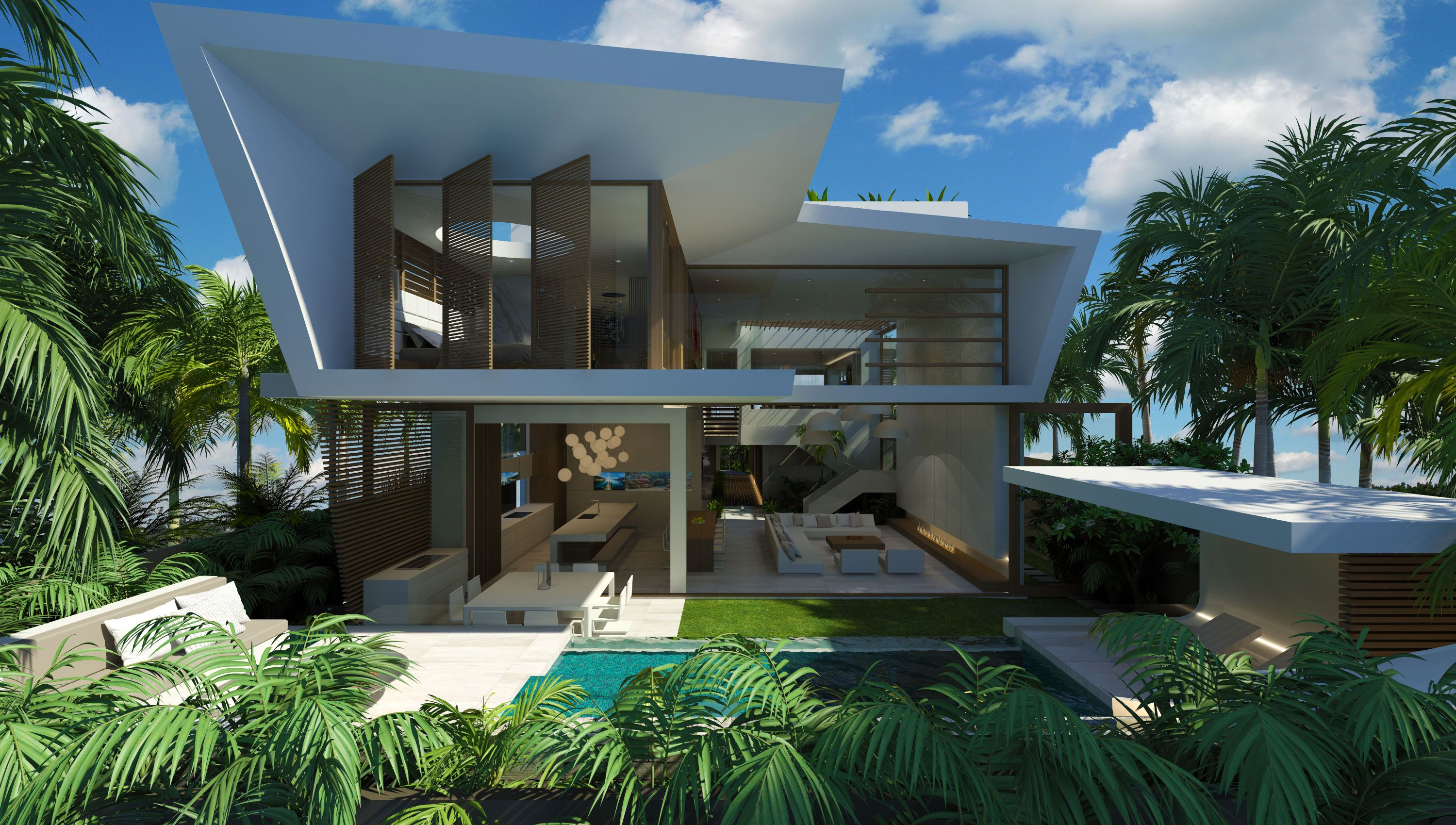 MODERN BEACH HOUSE | Chris Clout Design