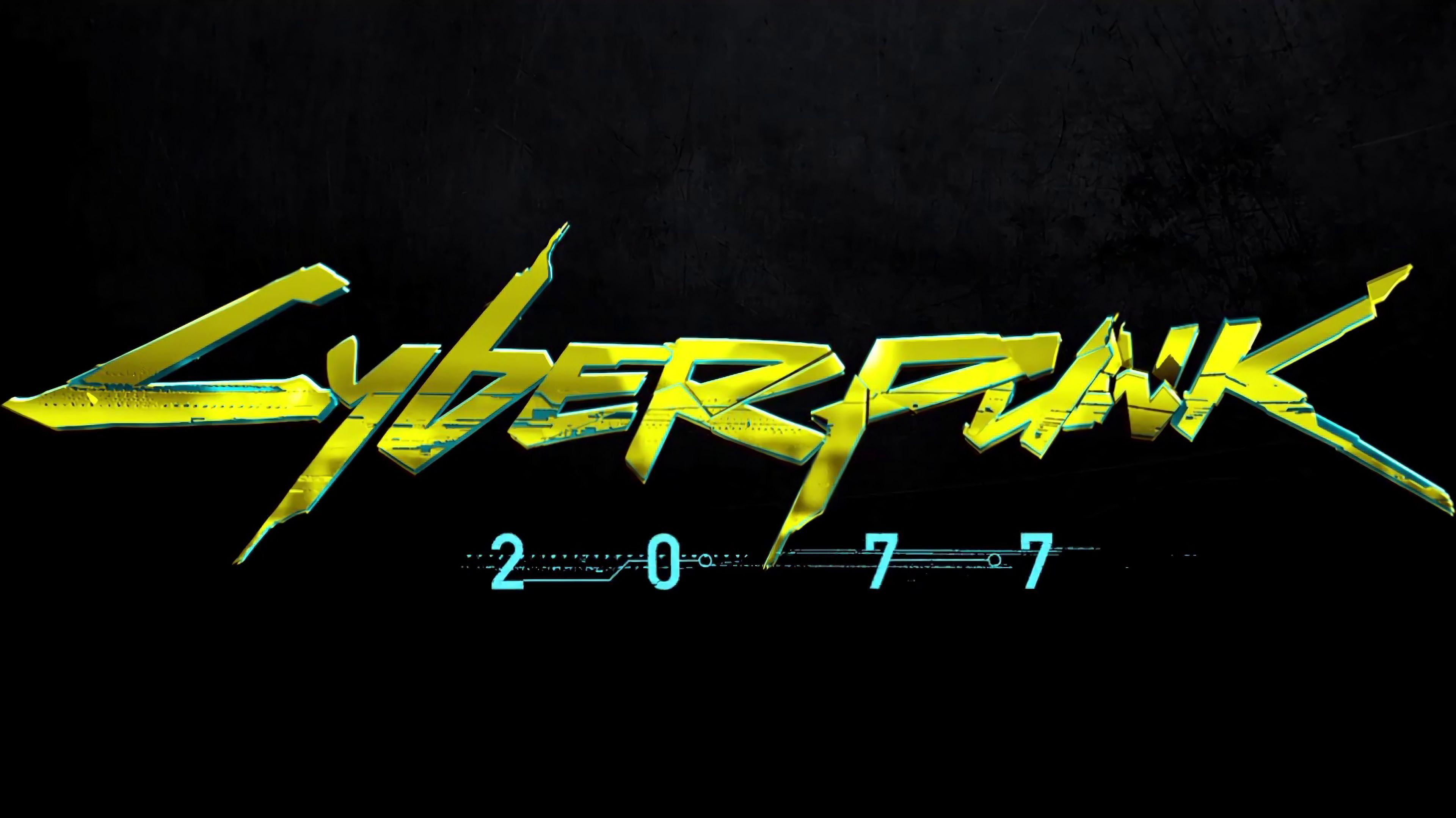 Cyberpunk 2077 Logo 4k 14744 Cyberpunk Cyberpunk 2077 Cyberpunk Girl