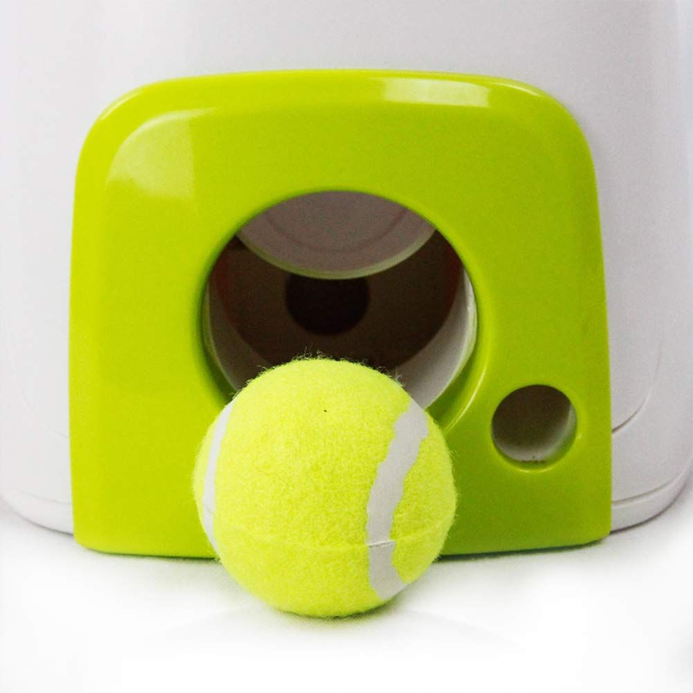 Automatic Dog Ball Launcherdog Tennis Ball Thrower Machine Fitness Toy Fetching Balls Training Tool Feeder Toy For Pets Small M Dog Ball Launcher Dog Toys Ball Launcher