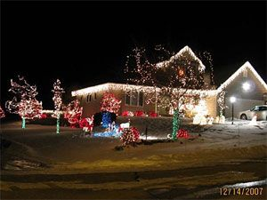 christmas light decoration ideas outdoor christmas lights display ideas - Christmas Light Display Ideas