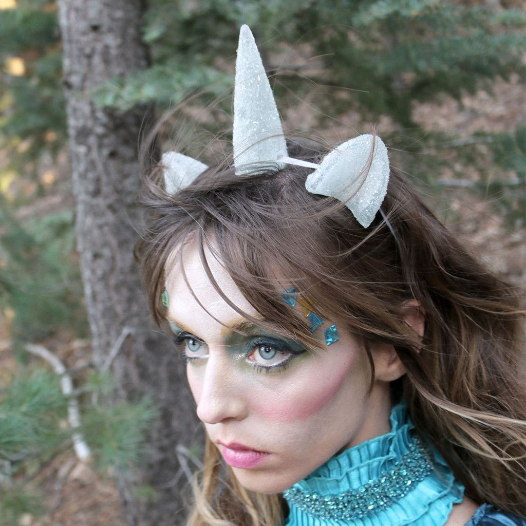 Ice Pony Ears & Unicorn Horn Set