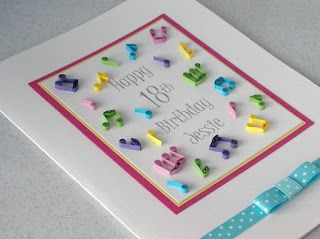Paper daisy cards quilled card for musician paper quilling quilled birthday card personalised with age and name a beautiful paper quilling birthday card with quilled music notes in lovely bright shades stopboris Choice Image