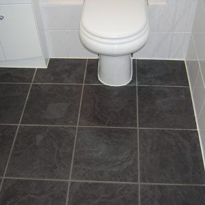 Laminate Flooring For Bathrooms Tile Effect