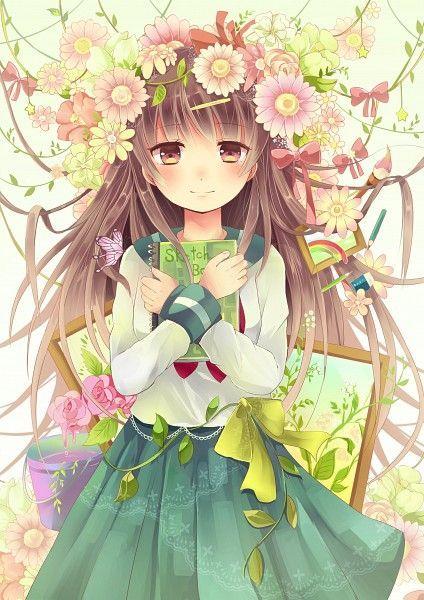 Rose Girl Gadis Animasi Animasi Mengagumkan