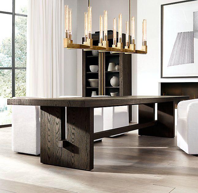 Cannele Linear Chandelier 55 Living Room Interior Design Photo Gallery Interior Design Living Room Modern Dining Room