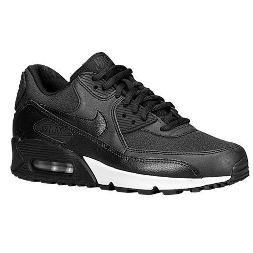 Nike Air Max 90 - Black Anthracite Metallic Silver Black   champs ... 6cb06d8a9b
