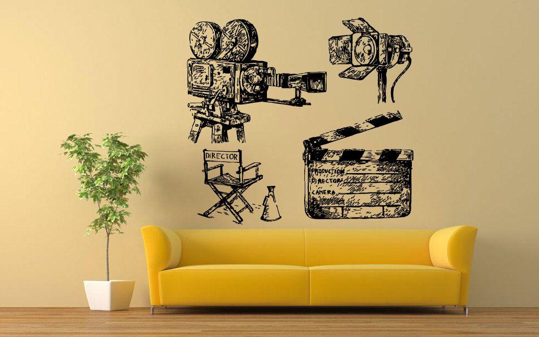 Wall Vinyl Sticker Decals Mural Room Design Pattern Art Decor Video ...
