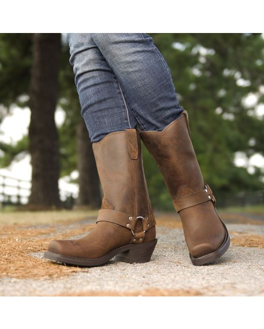 Western Classic Harness Boots