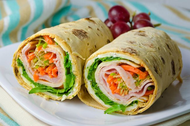 Light lunch wrap healthy lunch wraps alfalfa sprouts and lunches healthy lunch wrap light cream cheese lettuce alfalfa sprouts carrots tomatoes sisterspd