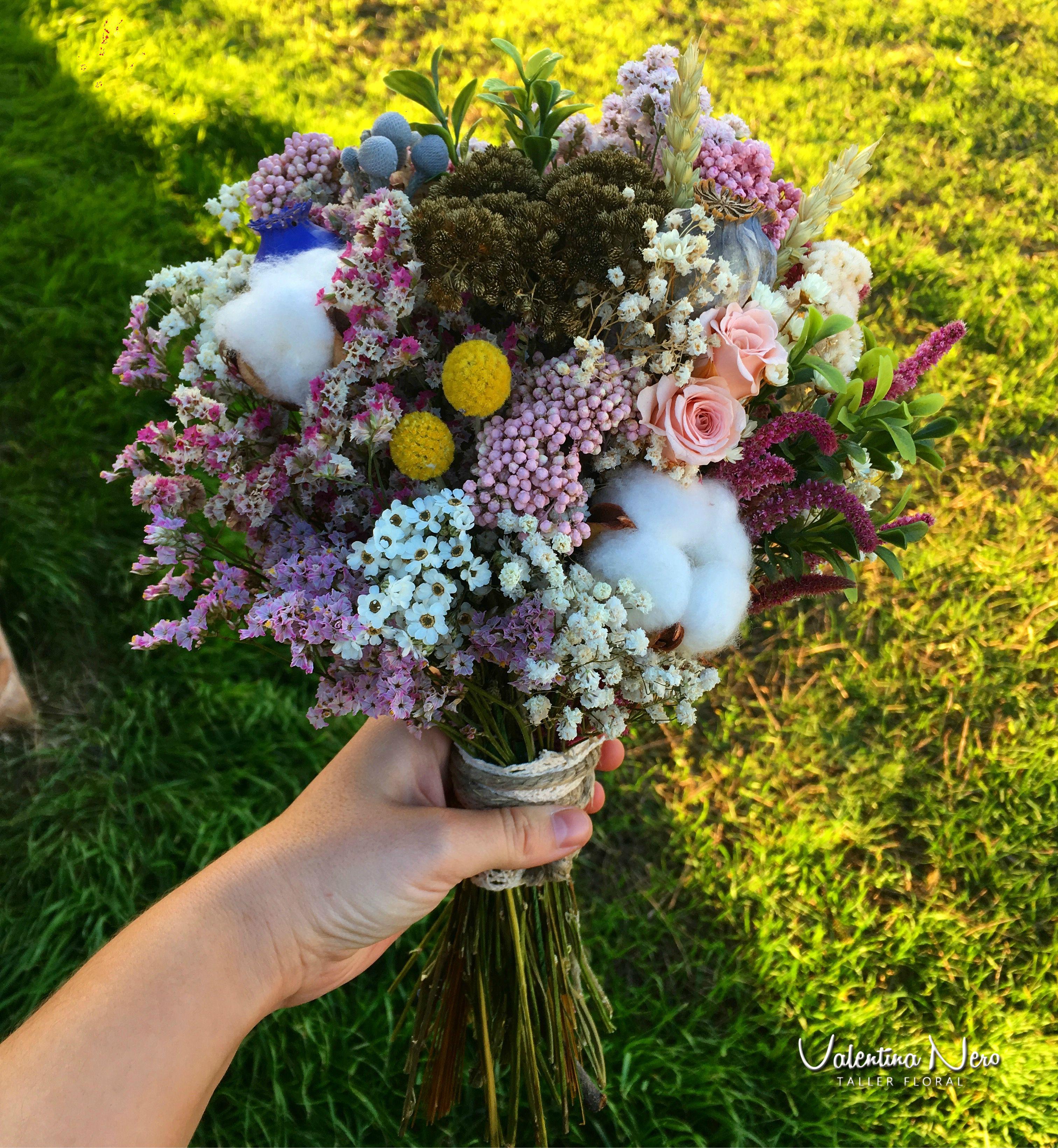 Ramo De Novia Con Flores Preservadas Con Flores Como La Rosa De  ~ Ramos De Novia Flores Preservadas