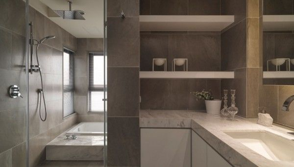 natural stone tile and marble slabs are used to create a bathroom that offers simple organic luxury house ideas pinterest stone tiles natural stones
