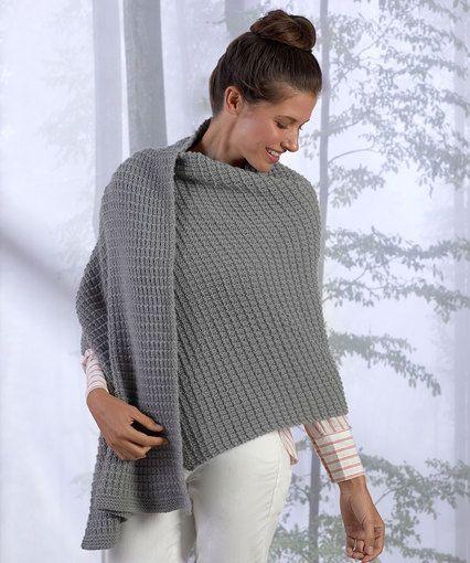 Safe Haven Shawl By Sandi Rosner Free Knitting Pattern Redheart