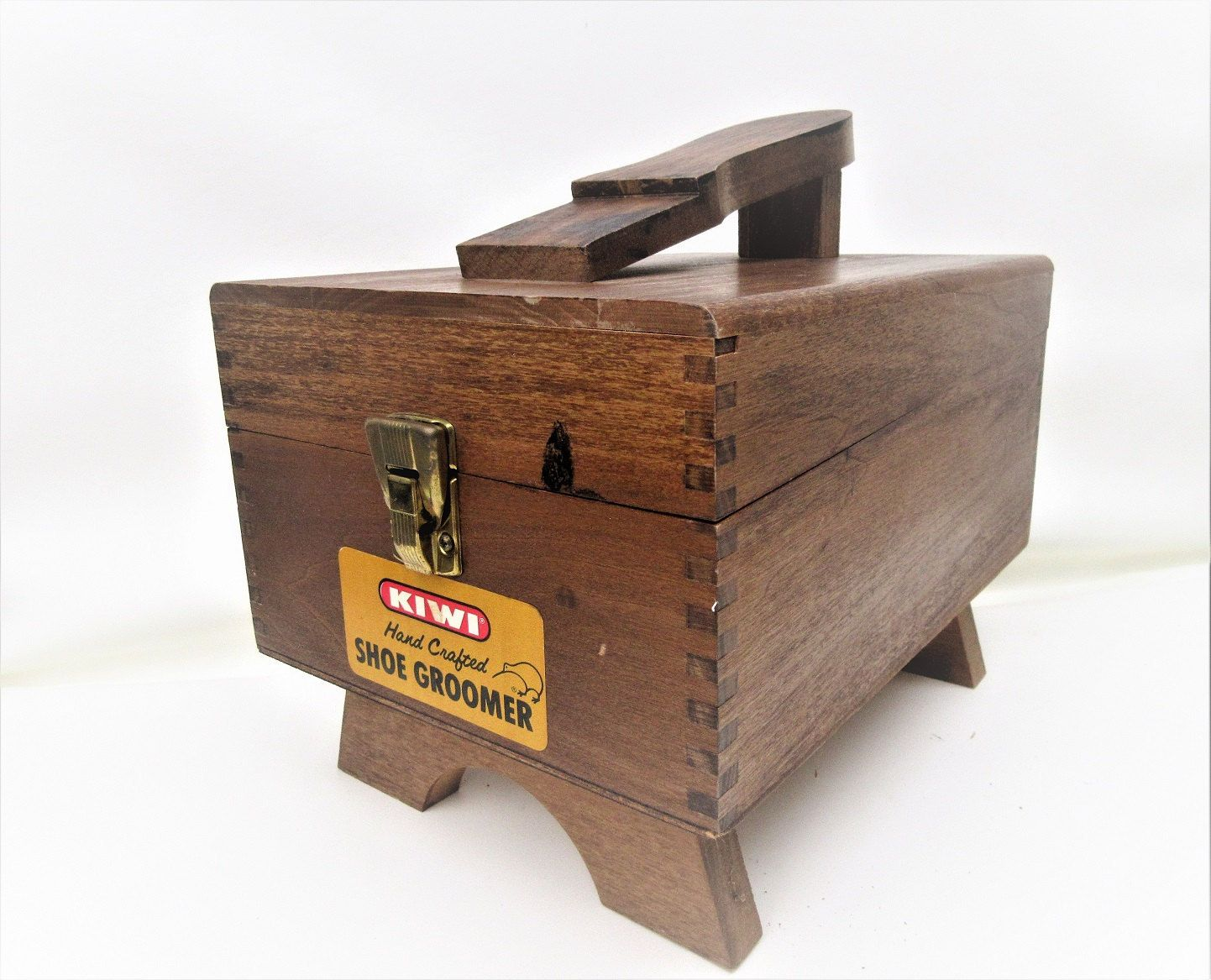 6ad8a9d7fbe Vintage Shoe Shine Caddy