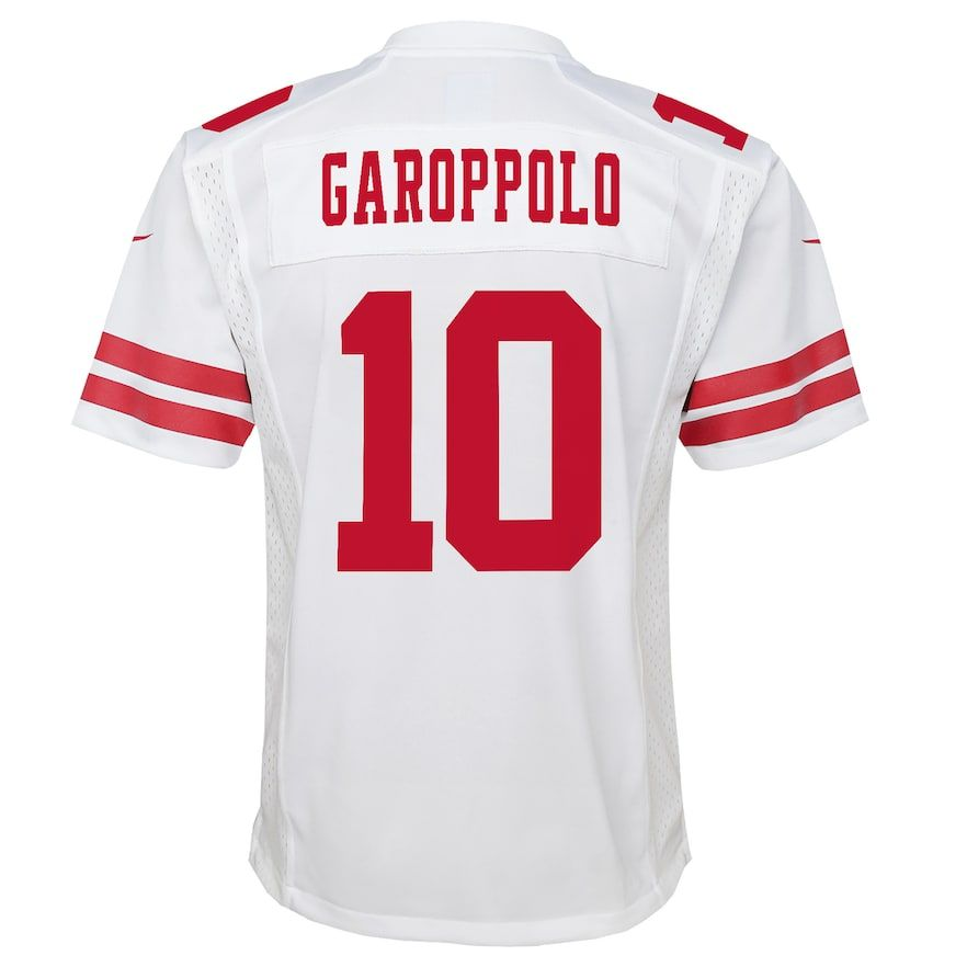 sports shoes 6ad2b 6f1ed Boys 8-20 San Francisco 49ers Jimmy Garoppolo Team Jersey ...