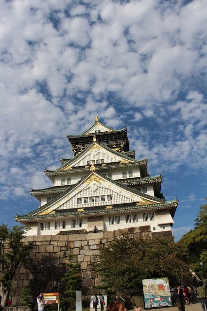 Armand's Rancho Del Cielo: Record Number of Visitors To Osaka Castle In 2015 ...