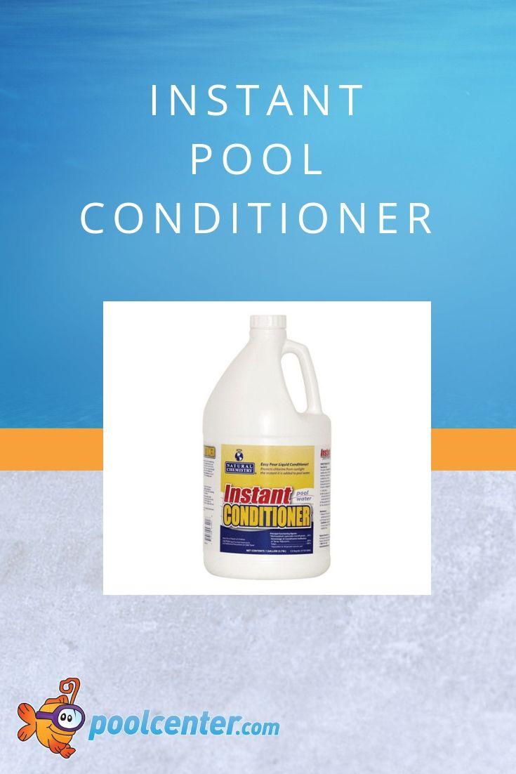 Natural chemistry instant conditioner liquid pool