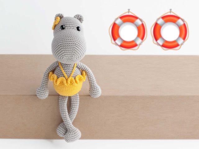 Hipopótama Nicanora | háčkování a pletení | Pinterest