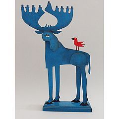 Moose Menorah by Acme Animal, one of several awesome options  Awsome for us wee -  gees!
