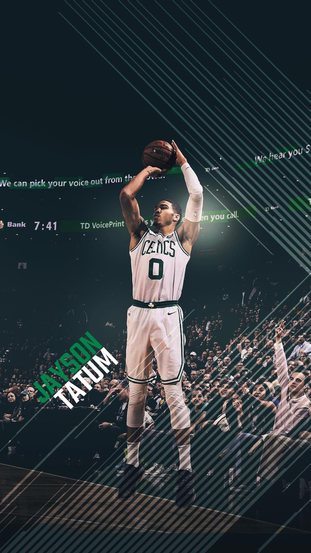 Boston Celtics Wallpaper Iphone Jayson Tatum Boston Celtics Wallpaper Nba Pictures Jayson Tatum
