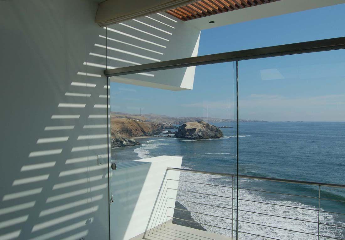 Beach houses peru beach house large glass wall zeospot com zeospot