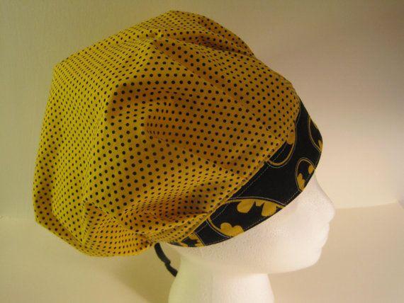 a81fb8328faad5 ... closeout batman bouffant scrub hat nurses scrub hat surgical tech hat  doctor scrub hat surgical scrub
