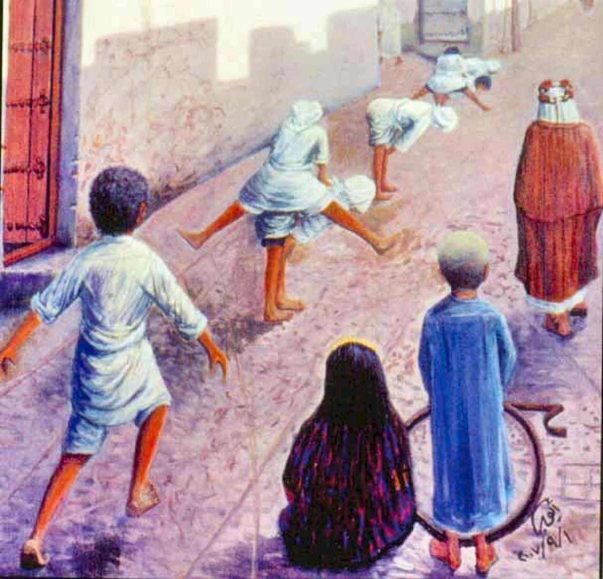 الفنان ايوب حسين الايوب طقه واطمره Arabian Art Painting Art