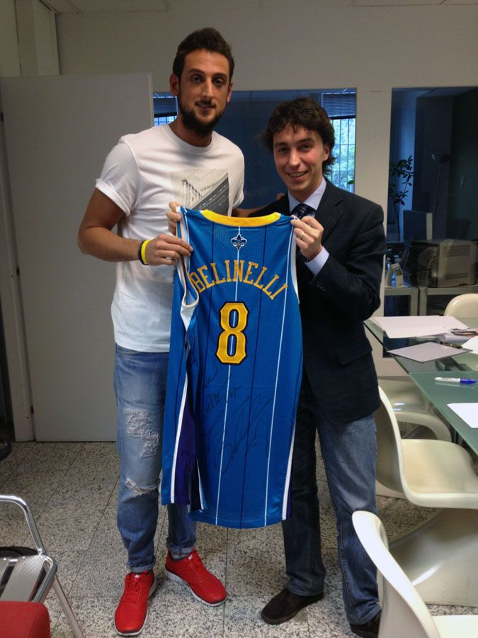 Marco Belinelli New Orleans Hornets (awesome outfit!) | The Fantasic ...