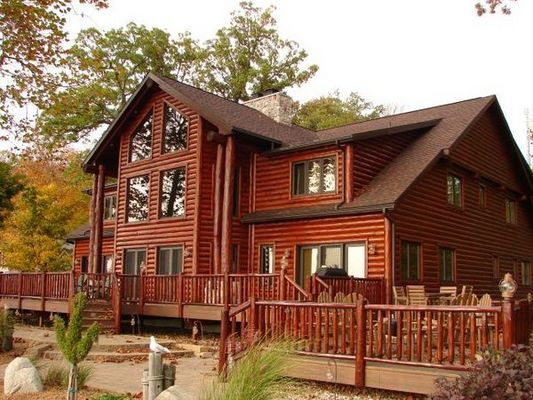 Log Home Staining And Restoration Near Warsaw And Syracuse