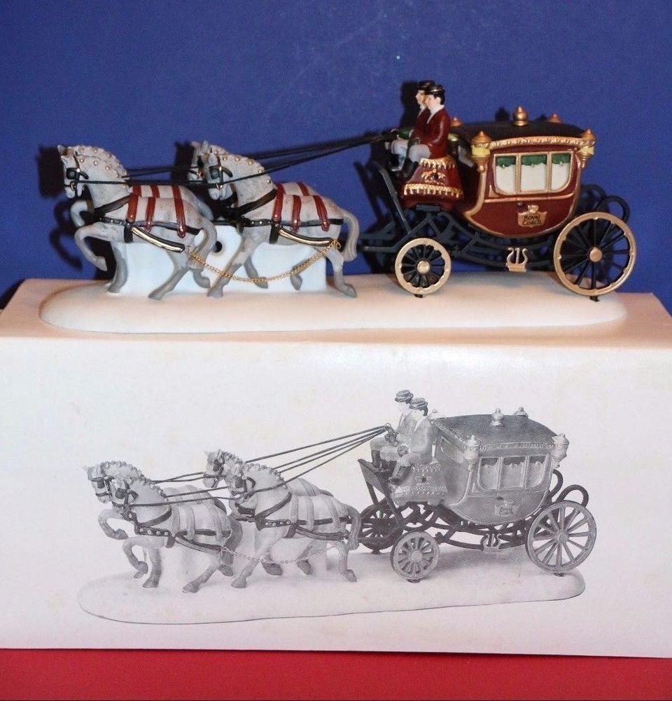 Dept. 56 Dickens Village accessory Royal Coach 55786