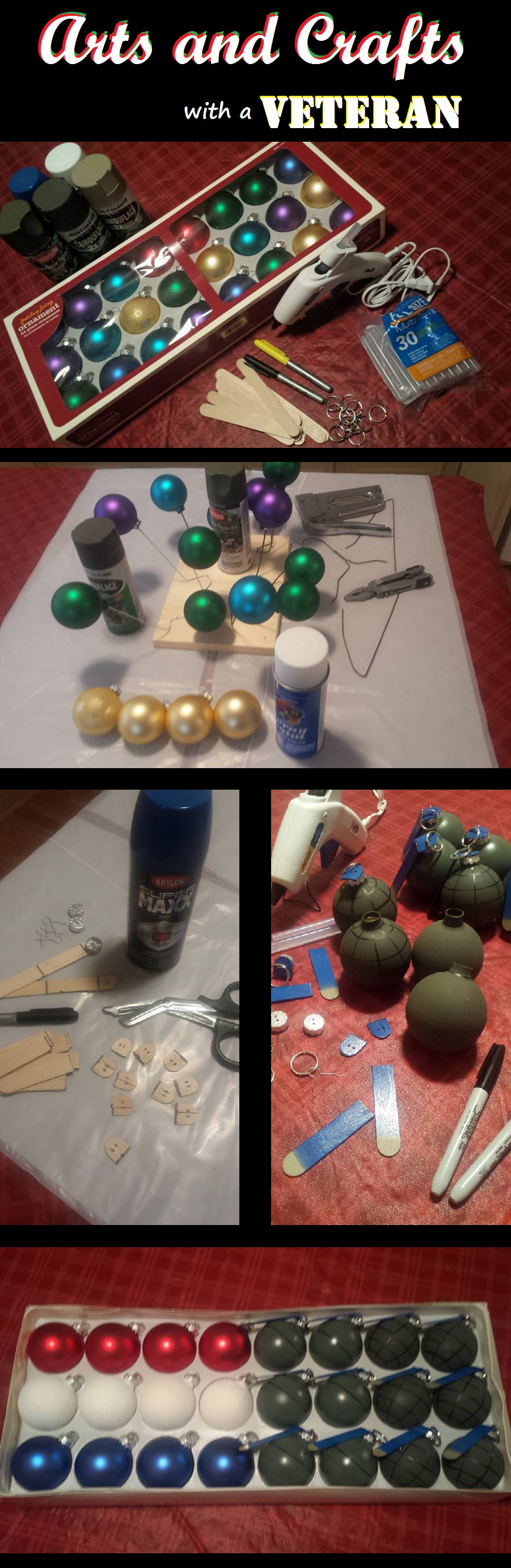 Arts and Crafts with a Veteran