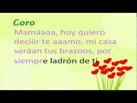 Canciones Para El Día De La Madre Mamá Que Alegría Da Youtube Canciones Infantiles Para Mamá Mensaje Del Día De La Madre Canciones Para Mamá