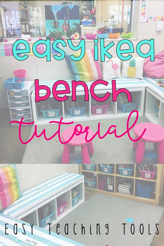 Easy Ikea Bench Tutorial Easy Teacher Hacks Classroom