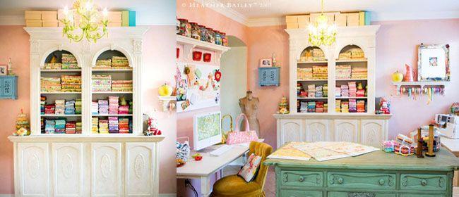 Como decorar y organizar un cuarto para costura ideas for Como de corar tu cuarto