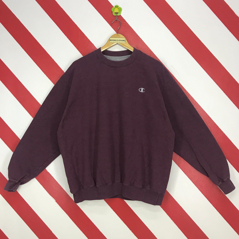 Vintage Champion Sweatshirt Champion Crewneck Streetwear Etsy Champion Sweatshirt Crew Neck Sweater Outfit Vintage Crewneck [ 3000 x 3000 Pixel ]