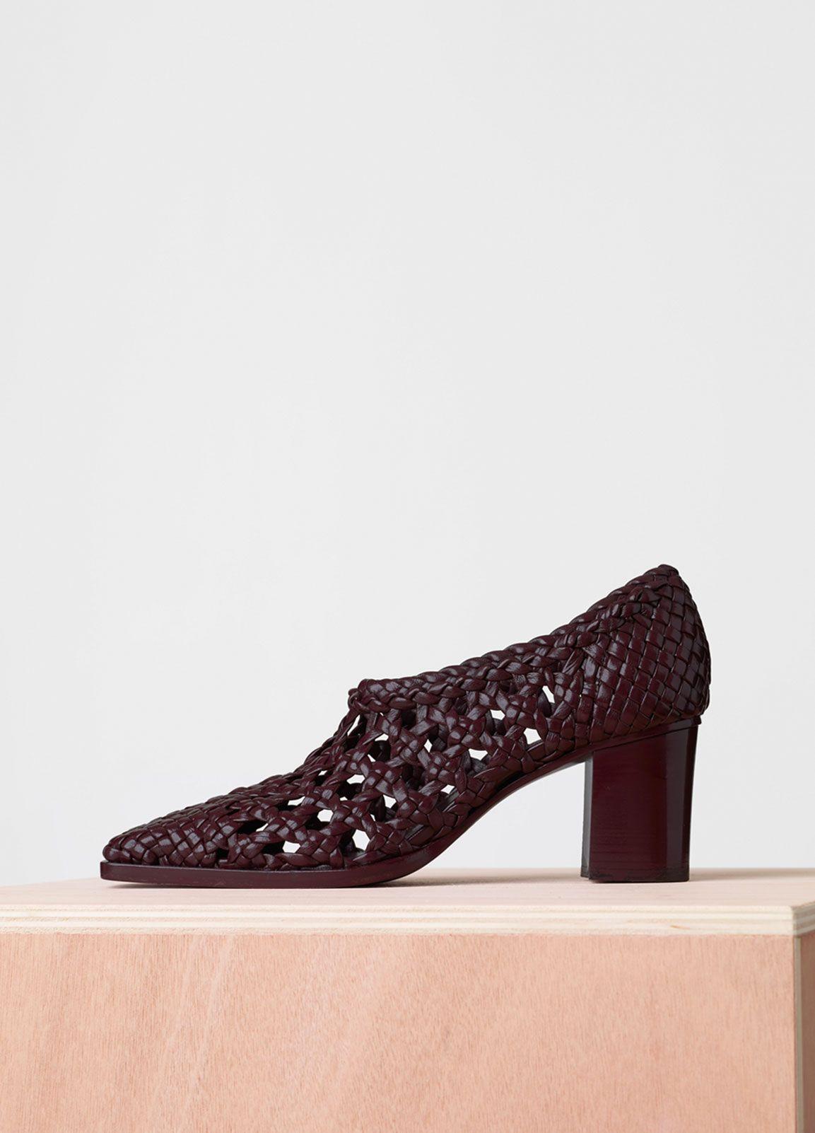 Chaussures Womens En Vente Dans La Sortie, Rouge, Cuir, 2017, 38 Celine