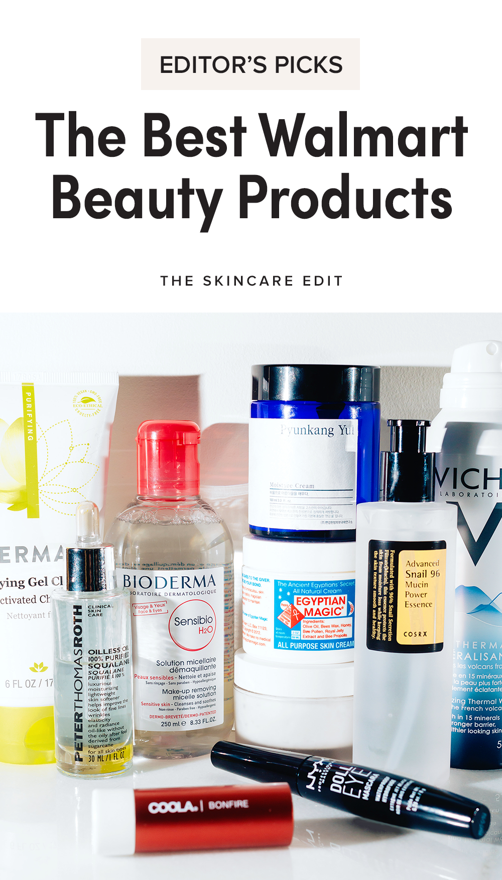 Editor S Picks 18 Of The Best Skincare Products That You Can Actually Find At Walmart Walmart Beauty Products Best Makeup Products Best Skincare Products