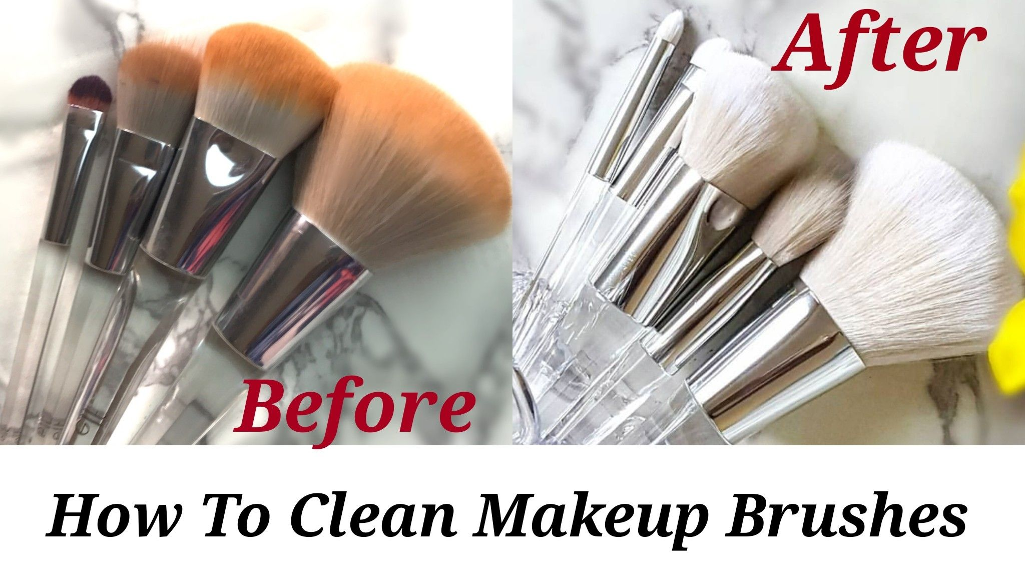 How To Get Rid Of Oil On Makeup Brushes
