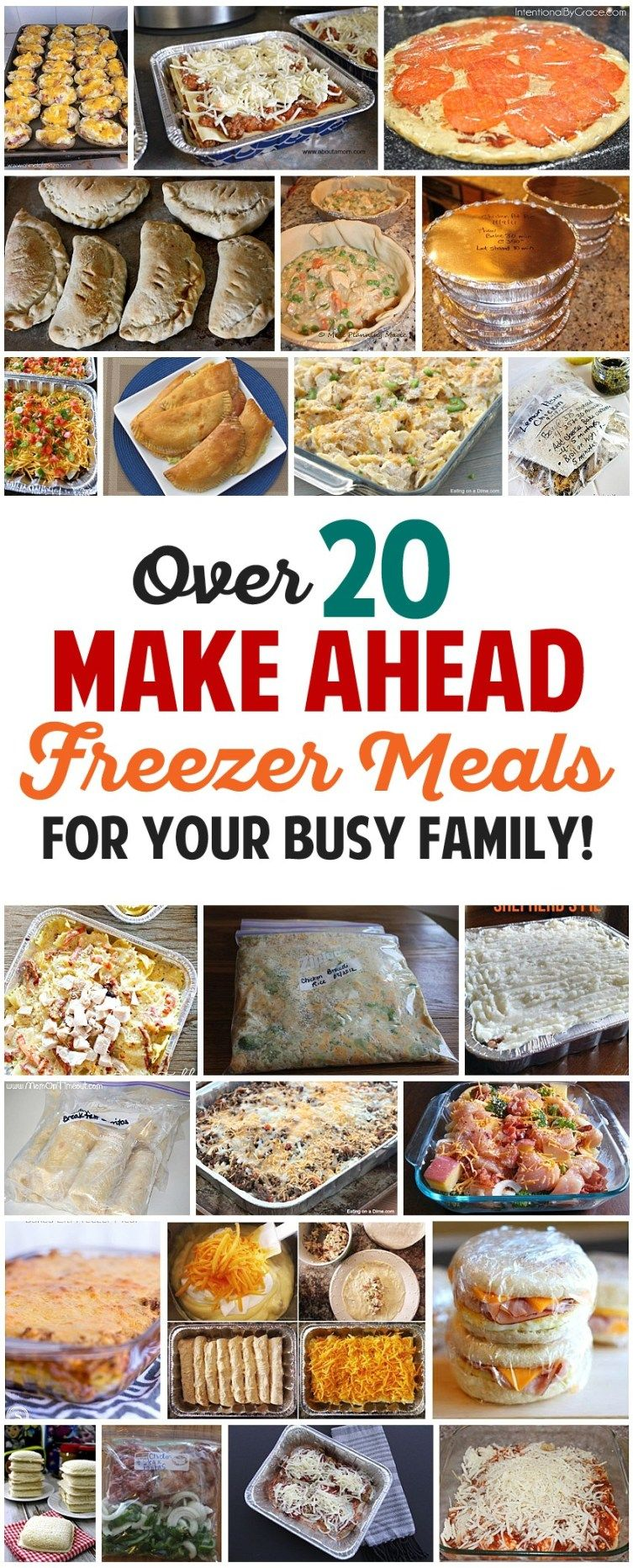 7 Freezer Meal Plans: 100 Healthy Freezer Meals