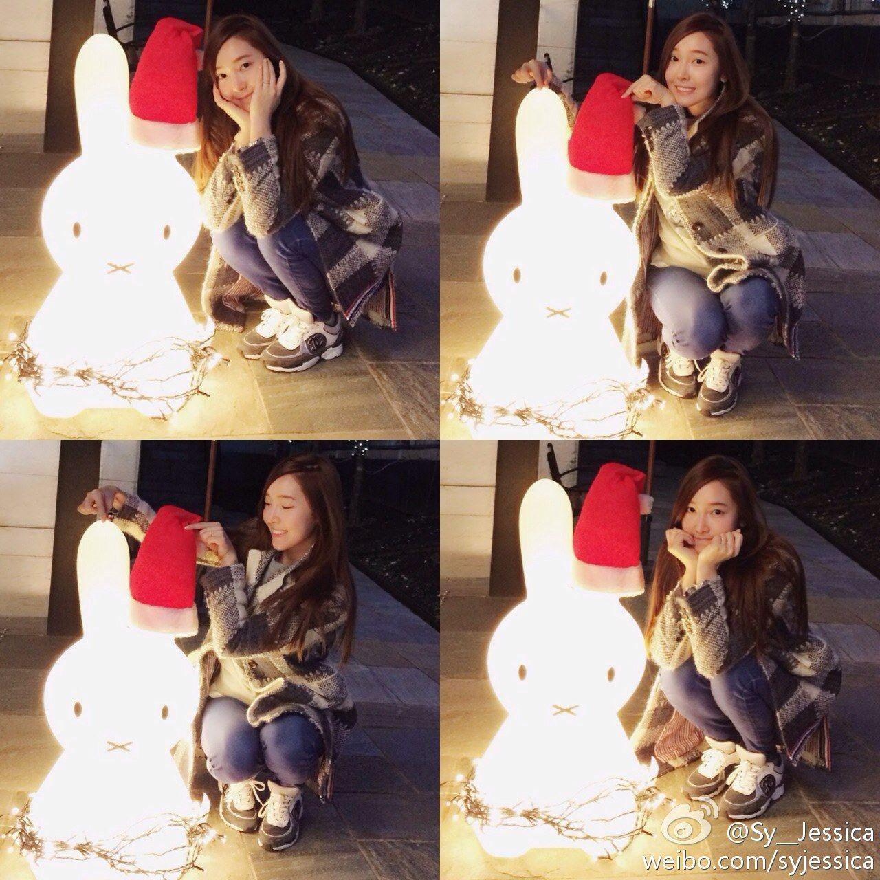 Jessica : Christmas is around the corner[圣诞树][心][雪]   Girls ...